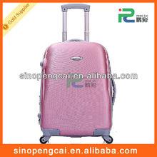 Hot sale fashion design PC+ABS luggage/hardcase