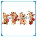 Valentine presente da promoção elefante hanging ornamento