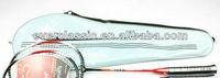 OEM elegant racket cover bag with customer's logo