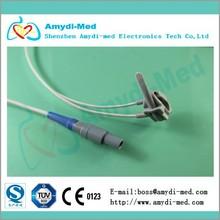 BCI SpO2 monitor sensor, reusable, neonate silicone wrap,Lemo plastic 7P