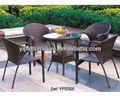 Antiguo redondo mesas de comedor y sillas, Silla de mesa para cafetería, Muebles de jardín, Muebles de jardín ( YPS008 )