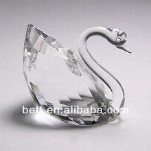 clear crystal swan wedding gift wholesale