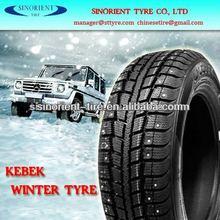 studded winter car tire 215/60R16