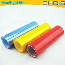 hot sale colored car wrap vinyl eyelashes eyelash light headlight car decal
