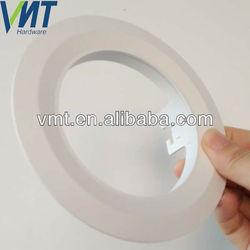 custom aluminum decorative led halo recessed light trim rings