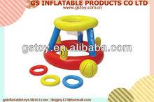PVC inflatable basketball hoop for pool EN71 approved