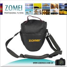 Zomei Fashion Nylon Black Triangle Dslr Camera Bag for Canon Sony