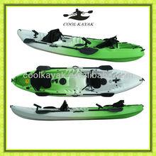 Plastic rotmold boat fishing kayak
