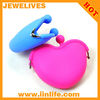 Candy color silicone coin purse silicone coin wallet