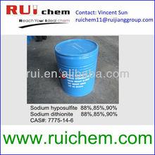 sodium hydrosulfite 90% 88% 85% cas 7775-14-6 sodium hydrosulphite sodium dithionite