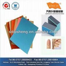 De haute qualité couleur papier de verre lime à ongles ( Europe et Americam marché )