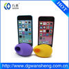 silicone music egg for iphone/mini egg speaker amplifier for iphone/self power