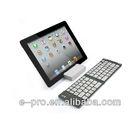 Slim Aluminum Foldable Wireless Bluetooth Keyboard For Ipad