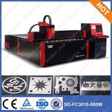 Carbon Steel Sheet Fiber Laser Cutter,400W/500W/1000W/2000W,3000x1500mm