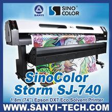 Digital Printing Machine with Epson DX7 Head -- SinoColor SJ-740