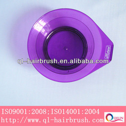 salon use plastic hair tinting bowl, dyeing bowl
