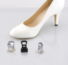 noise reduction ladies clear high heel stoppers for shoes