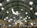 Inflable& estrella de la luna el ramadán la decoración del festival