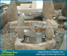 Outdoor garden fountains water pump fish pond