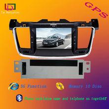 3G Car DVD for peugeot 508 dvd car dvd player