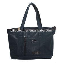 BUG 2013 hot sell PU coating manufacture beach shopping tote bag, hand bag