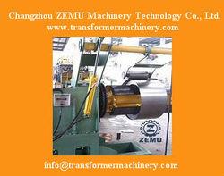 Automatic Radiator Steel Plate Decoiler Machine
