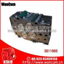 chongqing cummins engine parts Cylinder Head 3811985 for engine K19