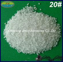 A grade industrial abrasive white fused aluminum oxide