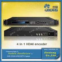 Digital Broadcasting MPEG4/H.264 ASI Video Encoder