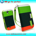 cell phone cover supplier leather wallet case for samsung galaxy s4