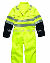 Newly long style reflective safety protective coverall