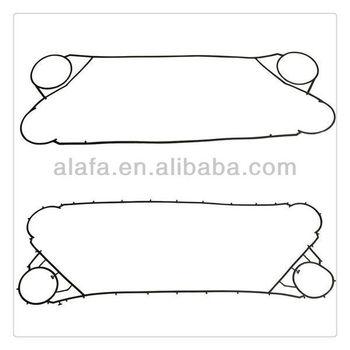 Plate heat exchanger gasket,spare parts alfa laval