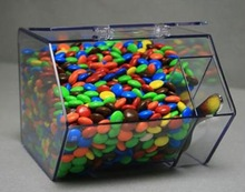 Acrylic plastic container for sugars and candys