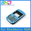 TOP Quality Painted with Flower housing for blackberry curve 8520 cover