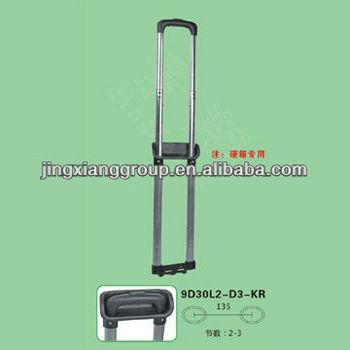 Metal luggage parts handle Telescopic suitcase handle Luggage parts handle