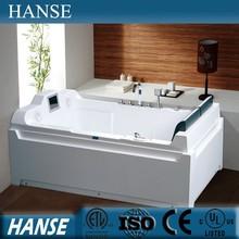 HANSE corner 1.8m length rectangle shape 2 person use bathtub HS-B045X