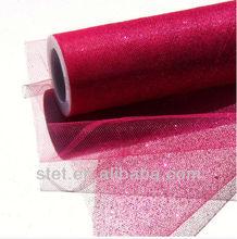Tutu Fabtic Wholesale Glitter Tulle Rolls for Decoration