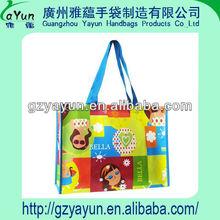 PP lamination non woven shopping tote bag ,pp bag manufacturer,Guangzhou PP bag