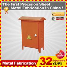 custom steet metal electrical junction boxes