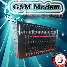 Hot price for wavecom gsm modem 32 ports,ethernet gsm modem,32 sim cards gsm SMS modem with free smscaster software