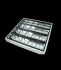 4X18W Surface Louver Lighting Fixture(white body)