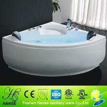 HS-B215 cheapest sex massage mini whirlpool plain acrylic bathtub