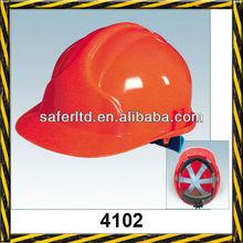 Red safety helmet for industrial, JSP safety helmet