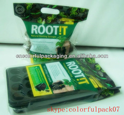 plant fertilizer Packaging Bag with handle/sealable plastic bag/agricultural products packaging