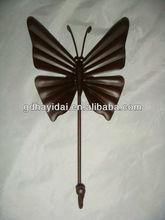 Metal butterfly hooks