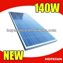Polycrystalline silicon 140w solar panel