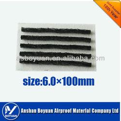 100*6.0mm Tire repair string tire seal black