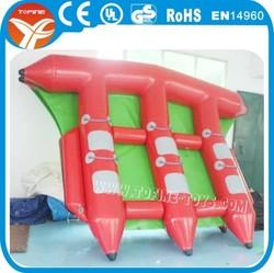 inflatable flying fish banana boat,flying fish boat