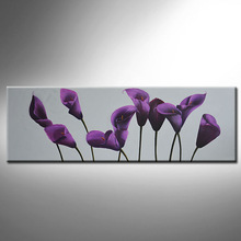 Free sample say flower oil painting with buyer's freight charge