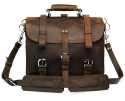 Low Price & Hot Selling Man Briefcase Leather Bag From China # 7072R